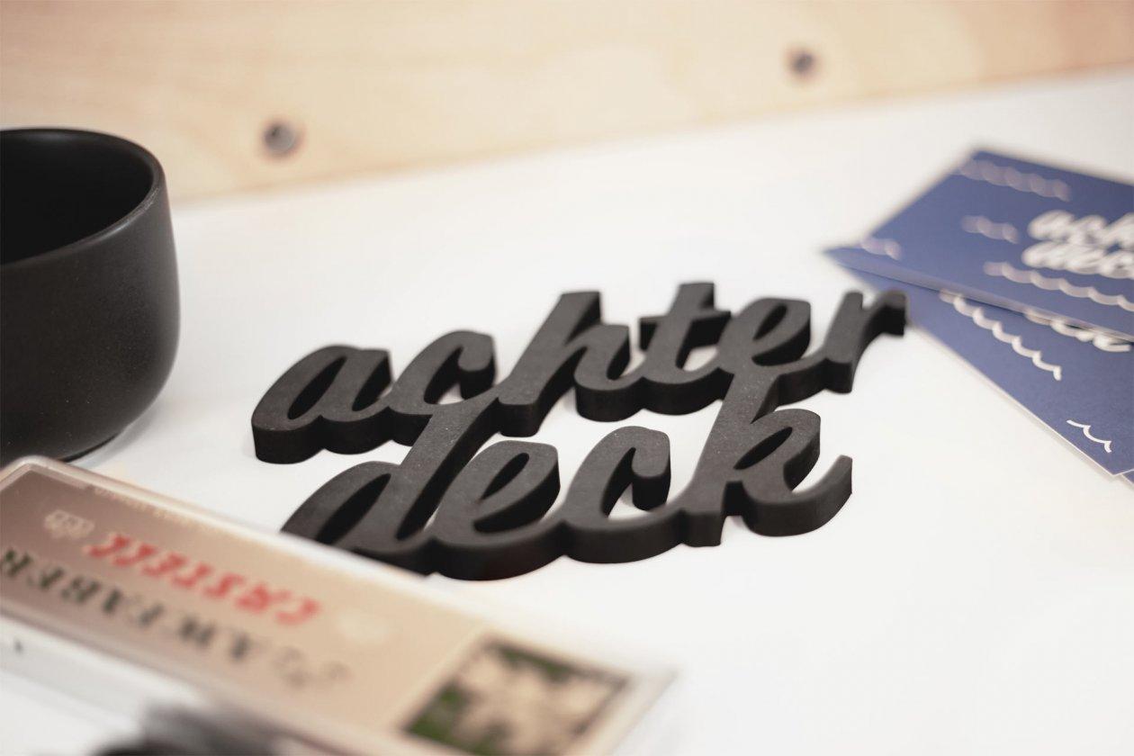 Achterdeck — FORMAAT